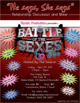 Event 2: Battle of the Sexes Round 1