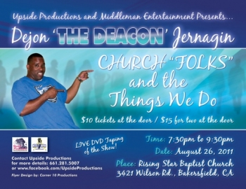 Event 5: The Deacon - 'Church Folks and the Things We Do'